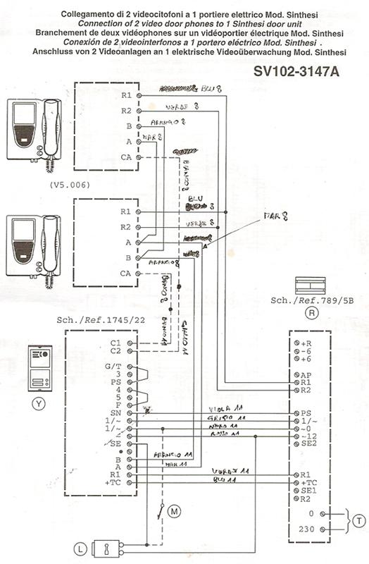 videocitofono urmet 2 fili